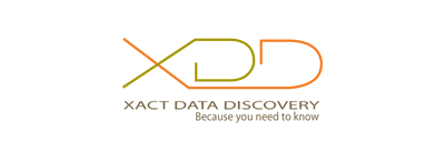 XDD Xact Data Discovery logo