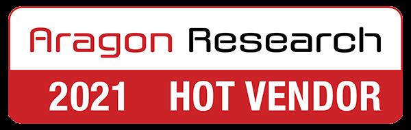 Aragon Research 2021 Hot Vendor logo